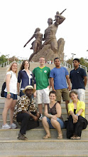 Photo: Field trip to see the African Renaissance Monument