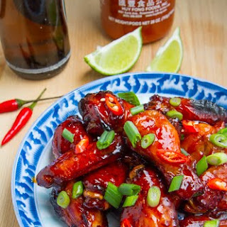 Vietnamese Style Caramel Chicken Wings.