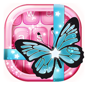Blue Butterfly Keyboard Themes