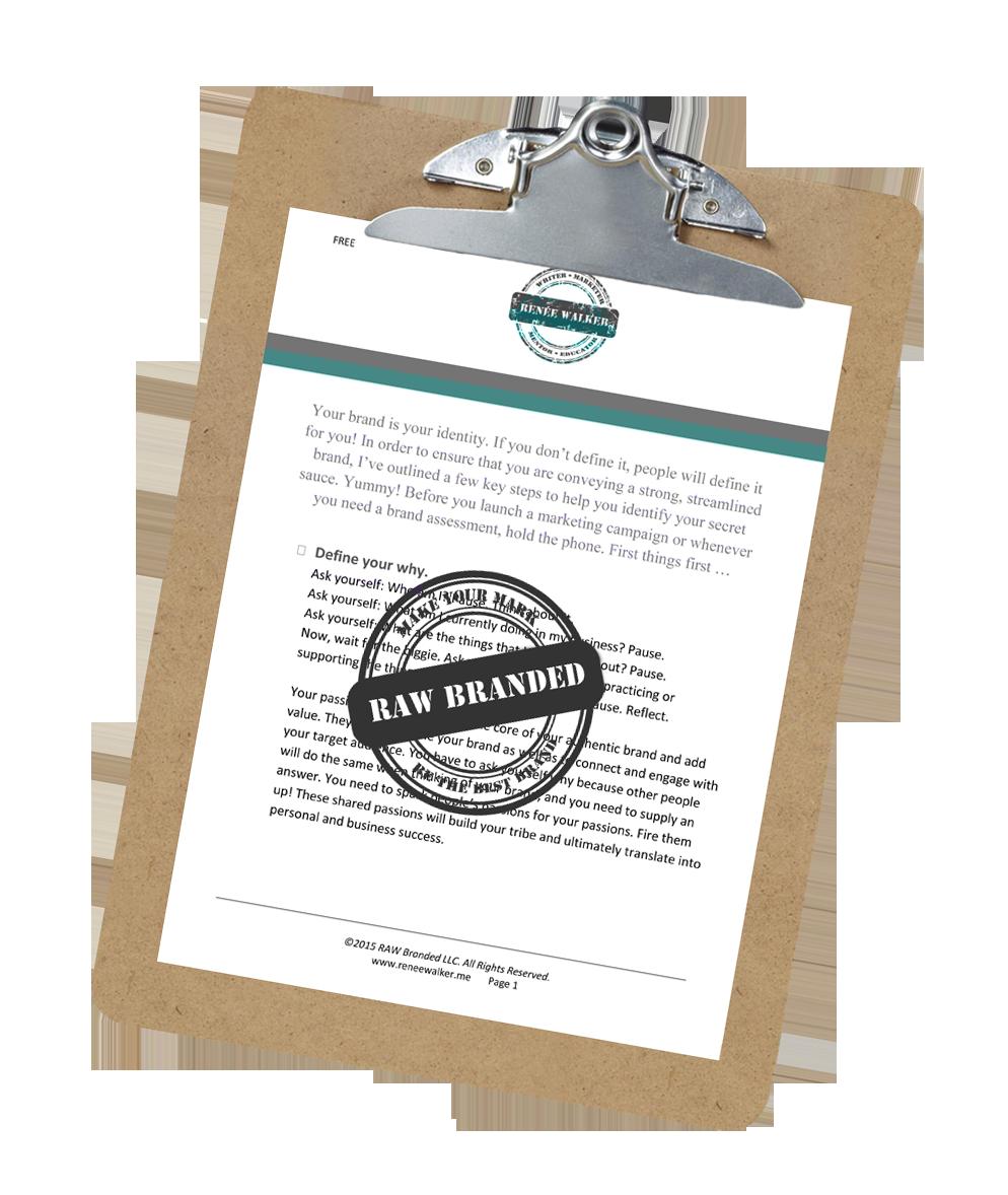 Free Branding Cheet Sheet