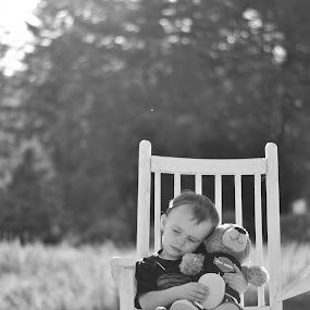 Cuddle time by Christy Kennedy - Babies & Children Child Portraits
