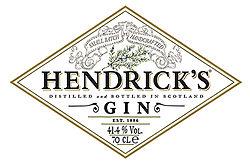 Logo for Hendrick's Gin