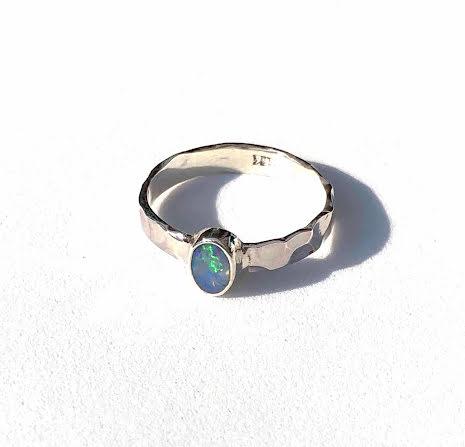 Silverring Opal-1