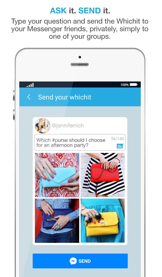 Whichit For Messenger- screenshot