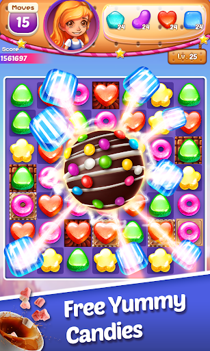 Sweet Cookie -2019 Puzzle Free Game - screenshot