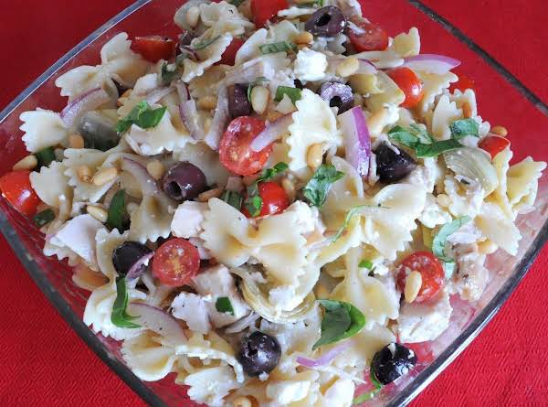 Farfalle Of Arete (greek Pasta Salad)