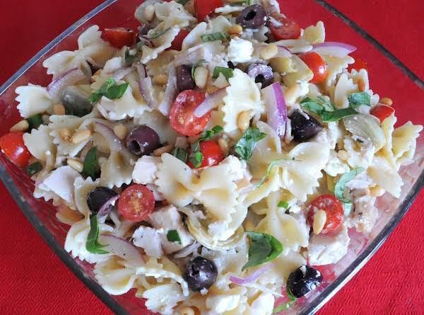 Farfalle Of Arete (greek Pasta Salad)