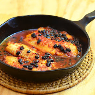 Tilapia in Black Bean Garlic Sauce.