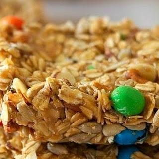 No-Bake Trail Mix Snack Bars