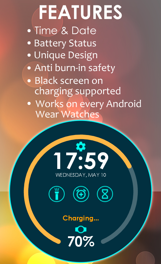 Charging Widget for Wear- screenshot