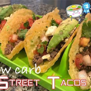 Low Carb Street Tacos.
