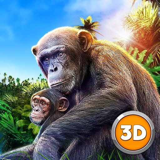 Chimpanzee Monkey Simulator 3D