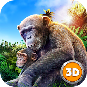 Chimpanzee Monkey Simulator 3D