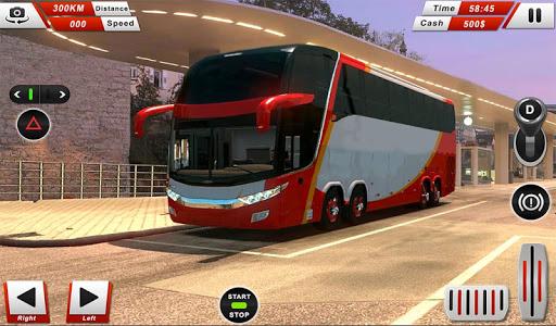 Autobu00fas Euro Coach conduciendo simulador Off Road  trampa 10