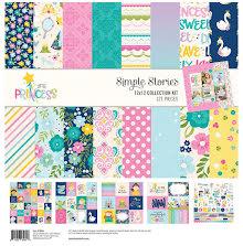Simple Stories Collection Kit 12X12 - Little Princess UTGÅENDE