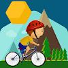 Bike racing hill climb 2D