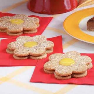 Lemon Curd Cookies.