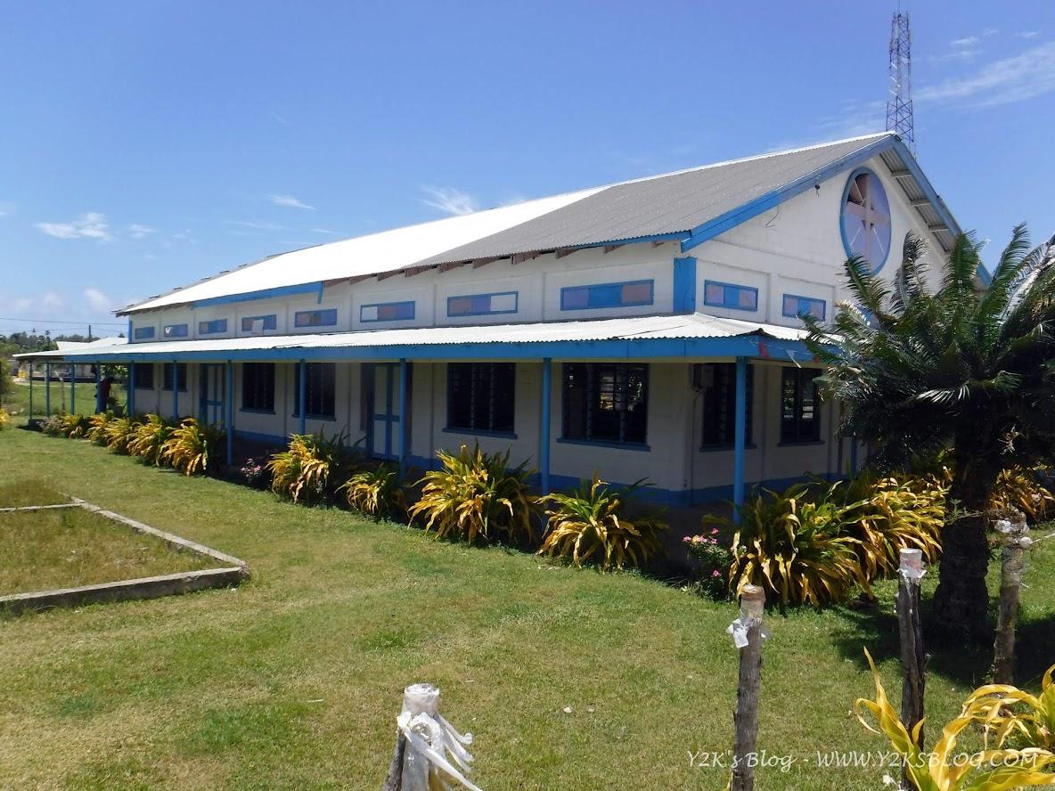 La chiesa di Pangai - Ha'apai