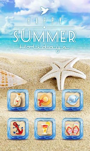 Summer Holidays GO Launcher