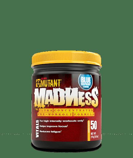 Mutant Nutrition Madness 0,27kg - Blue Raspberry