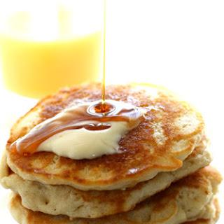 Light and Fluffy Vegan Pancakes..