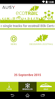 Screenshot of EcoTrail