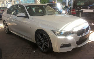 BMW F30 330d Rent Western Cape