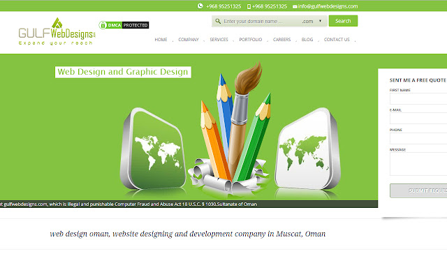 web design oman