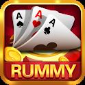 Gin Rummy Club & 3 TeenPatti Club Online Card Game icon