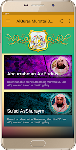 AlQuran-Murottal 30 Juz - náhled