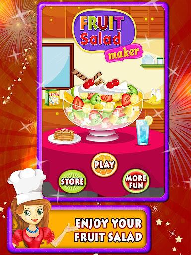 フルーツ サラダ メーカー料理ゲーム