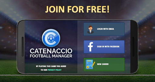 Catenaccio Football Manager screenshots 1