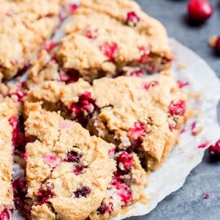 Almond Cake with Cranberries {GF, Vegan}.