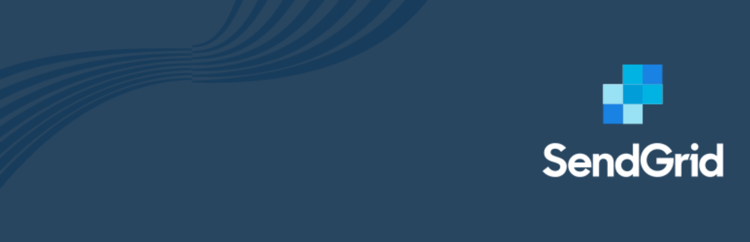 SendGrid's official WordPress plugin header