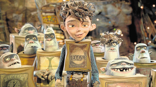 GOOD GUYS: The fantasy-comedy film 'The Boxtrolls' features the voices of Elle Fanning and Ben Kingsley