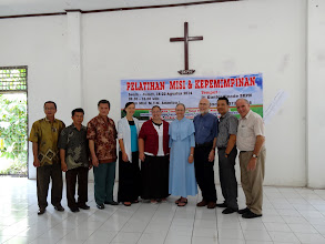 Photo: Our last photo with all the Nias Island BKPN synod leaders and Pastor Richard.