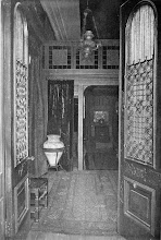 Photo: 1903 Front hall of a town house