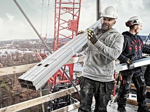 Blaklader kleding bouwvakker