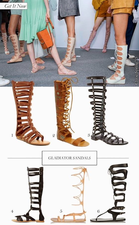 Get It Now: Gladiator Sandals