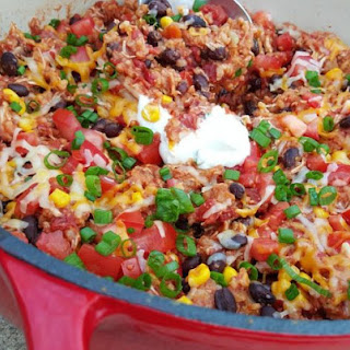 Crock-Pot Chicken Burrito Bowls