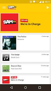 Sam FM - Radio App - náhled