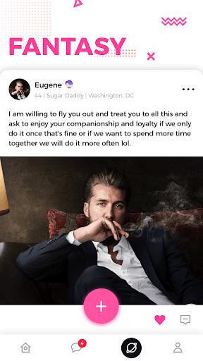 Sugar Daddy Meet & Dating Arrangement App - Flirt 1.6.0 screenshots 2