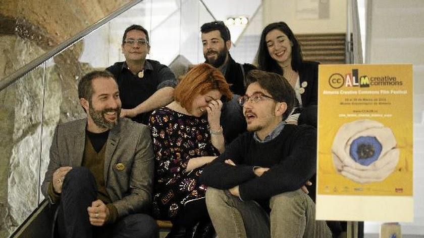 Organizadores delCCAlm Film Festival.