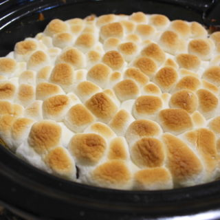 Slow Cooker Sweet Potato Casserole with Marshmallows Recipe