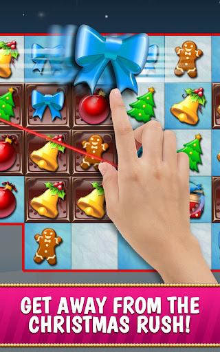 Christmas Crush Holiday Swapper Candy Match 3 Game 1.35 screenshots 1