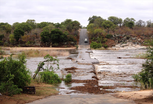 Flooding in the Kruger National Park on 9 March 2016.