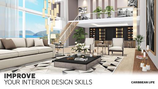 Télécharger Home Design: Caribbean Life  APK MOD (Astuce) screenshots 1