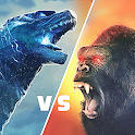 Angry Monster Gorilla - King Fighting Kong Games icon