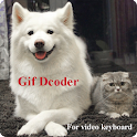 Gif Decoder for Video Keyboard icon