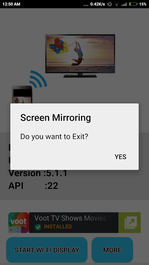 Android Screen Mirroring